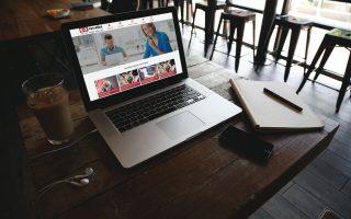 Mẫu web giới thiệu doanh nghiệp, dịch vụ mới 2019